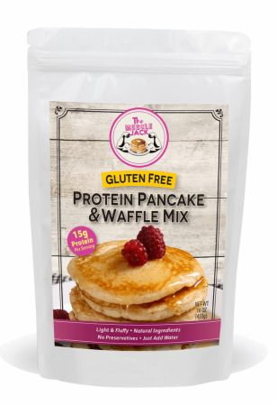 Image of Gluten Free Protein Pancake & Waffle Mix 16 Oz. - Healthy Snacks & Foods The Muscle Donut
