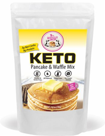 Image of Keto Pancake & Waffle Mix 10.5 Oz. - Healthy Snacks & Foods The Muscle Donut