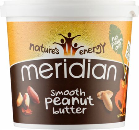 Image of Meridian Nut Butter 1 Kilogram Smooth Peanut Butter