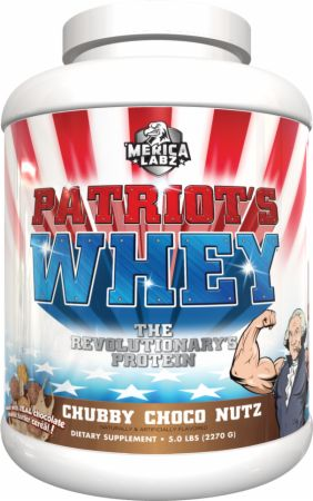 Image of Patriot's Whey Chubby Choco Nutz 5 Lbs. - Protein Powder 'Merica Labz