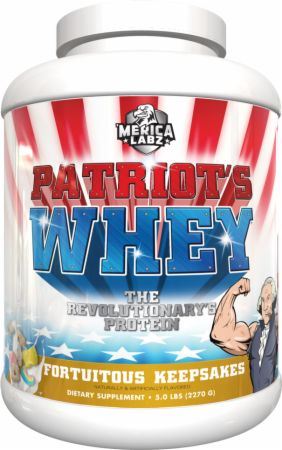 Image of Patriot's Whey Fortuitous Keepsakes 5 Lbs. - Protein Powder 'Merica Labz
