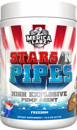 Image of Stars 'N Pipes Freedom 20 Servings - Stimulant Free Pre-Workout 'Merica Labz
