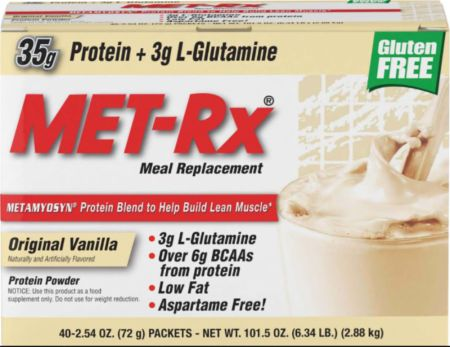 Image of Meal Replacement Original Vanilla 40 Packets - Meal Replacement MET-Rx