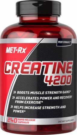 Image of MET-Rx Creatine 4200 240 Rapid Release Capsules