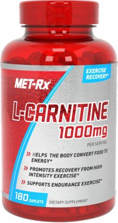 Image of MET-Rx L-Carnitine 180 Caplets