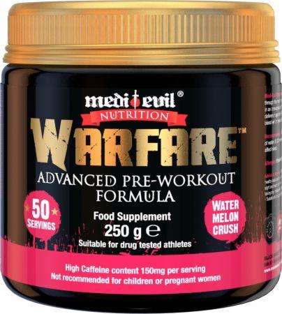 Image of Warfare Watermelon Crush 250 Grams - Pre-Workout Supplements Medi Evil