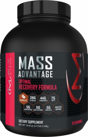 Image of Mass Advantage Chocolate 5 Lbs. - Mass Gainers MFIT Supps