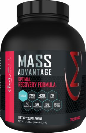 Image of Mass Advantage Vanilla 5 Lbs. - Mass Gainers MFIT Supps