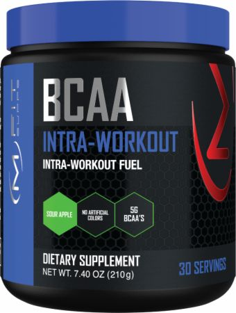 Image of BCAA Intra-Workout Fuel Sour Apple 30 Servings - Amino Acids & BCAAs MFIT Supps