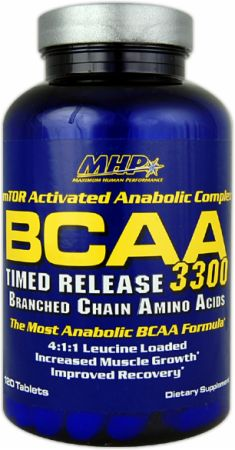 Image of MHP BCAA 3300 120 Tablets