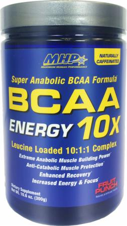 Image of MHP BCAA 10X Energy 300 Grams Fruit Punch