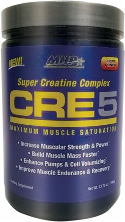 Image of MHP CRE5 60 Servings Fruit Punch