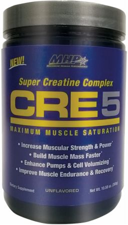 Image of MHP CRE5 60 Servings Unflavored