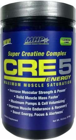 Image of MHP CRE5 Energy 60 Servings Lemon Lime