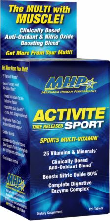 Image of Activite Sport 120 Tablets - Multivitamins MHP