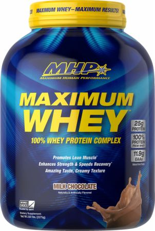 Image of Maximum Whey Protein Complex Milk Chocolate 5 Lbs. - Protein Powder MHP