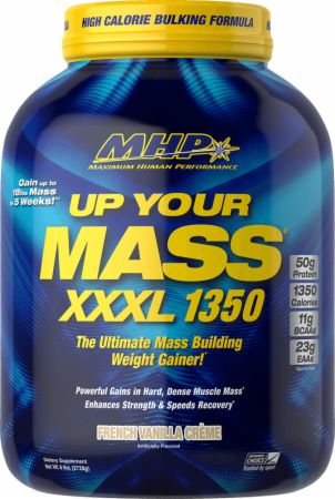 Image of Up Your Mass XXXL 1350 French Vanilla Crème 6 Lbs. - Mass Gainers MHP