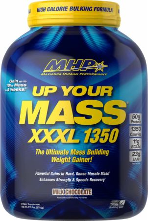 Image of Up Your Mass XXXL 1350 Milk Chocolate 6 Lbs. - Mass Gainers MHP