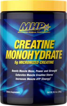 Image of Creatine Monohydrate Unflavored 300 Grams - Creatine MHP