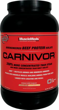 Image of Carnivor Chocolate Peanut Butter 28 Servings - Protein Powder MuscleMeds
