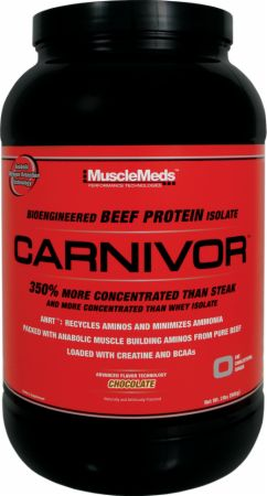 Image of MuscleMeds Carnivor 28 Servings Chocolate