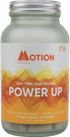 Image of Power Up - Daytime Nootropic 60 Vegan Capsules - Nootropics Motion Nutrition