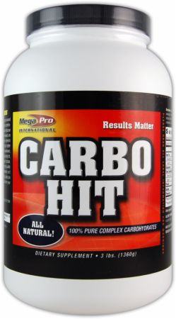 Image of Mega-Pro Carbo Hit 3 Lbs. All Natural