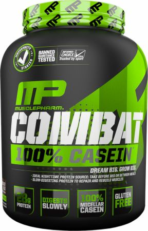 Image of Combat 100% Casein Vanilla 4 Lbs. - Protein Powder MusclePharm
