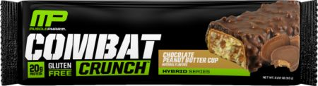 Image of Combat Crunch Protein Bar Chocolate Peanut Butter Cup 1 Bar - Protein Bars MusclePharm