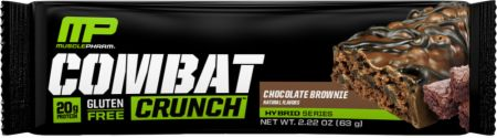 Image of Combat Crunch Protein Bar Chocolate Cake 1 Bar - Protein Bars MusclePharm