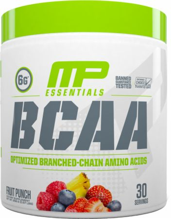 Image of BCAA Fruit Punch 30 Servings - Amino Acids & BCAAs MusclePharm