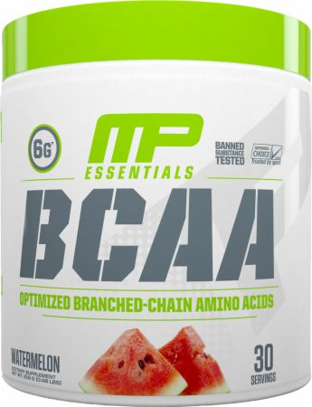 MusclePharm Essentials Amino Energy, 6 Grams of BCAA Powder, with Caffeine and Green Tea, BCAA Energy for Pre Workout or Anytime Energy