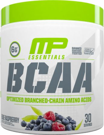 Image of BCAA Blue Raspberry 30 Servings - Amino Acids & BCAAs MusclePharm