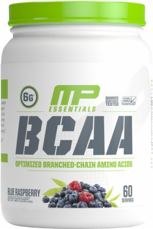 Image of BCAA Blue Raspberry 60 Servings - Amino Acids & BCAAs MusclePharm