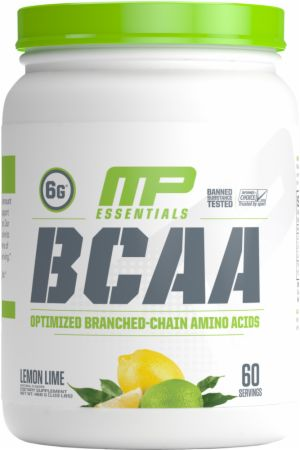 Image of BCAA Lemon Lime 60 Servings - Amino Acids & BCAAs MusclePharm