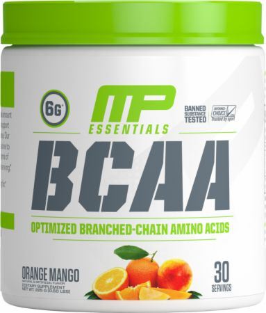 Image of BCAA Orange Mango 30 Servings - Amino Acids & BCAAs MusclePharm