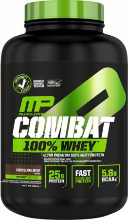 Image of MusclePharm Combat 100% Whey 1814 Grams Strawberry
