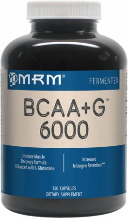 MRM BCAA+G 6000 Caps 150 Capsules - Post-Workout Recovery