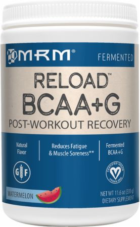 MRM Reload BCAA+G Watermelon 330 Grams - Post-Workout Recovery