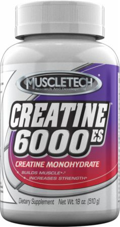 MuscleTech Creatine 6000-ES