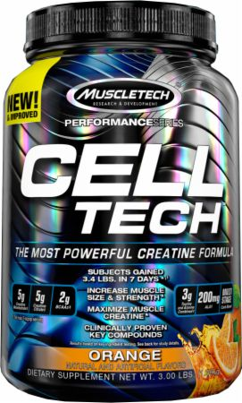 Image of CELL-TECH Orange 3 Lbs. - Post-Workout Recovery MuscleTech