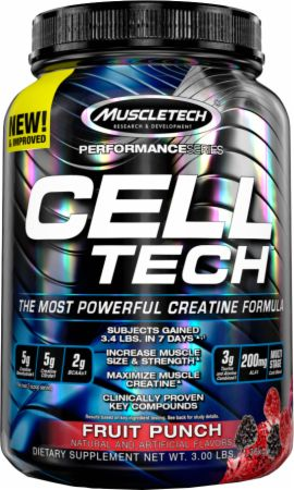 Image of CELL-TECH Fruit Punch 3 Lbs. - Post-Workout Recovery MuscleTech