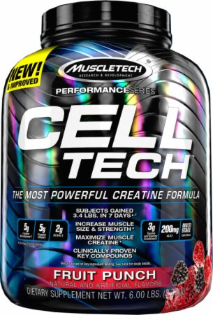 Image of CELL-TECH Fruit Punch 6 Lbs. - Post-Workout Recovery MuscleTech