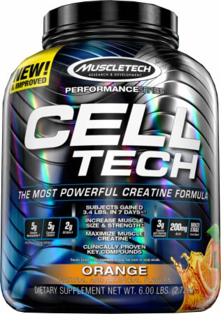 Image of CELL-TECH Orange 6 Lbs. - Post-Workout Recovery MuscleTech