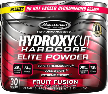 Hydroxycut Hardcore Elite Thermogenic Fat Burner