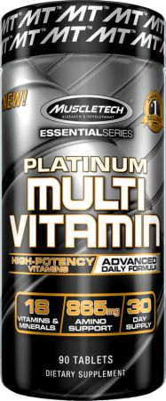 Platinum Multivitamin Bottle