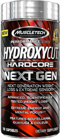 Hydroxycut Hardcore Next Gen Weight Loss Supplement