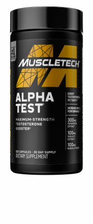 Alpha Test Testosterone Booster
