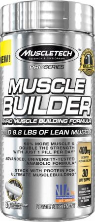 Muscle Builder  30 Capsules - Build Muscle MuscleTech