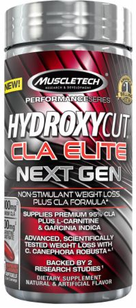 Muscletech Hydroxycut Cla Elite Next Gen At Bodybuilding